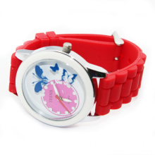 Fashionable clothing colorful silicone watch