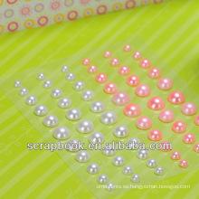 etiqueta engomada auta-adhesiva perla para scrapbook