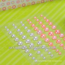 pearl self-adhesive sticker for scrapbook
