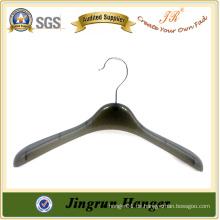 Heißer Verkaufs-Qualitäts-Schwarz-Aufhänger-preiswerter Plastikaufhänger für Anzug