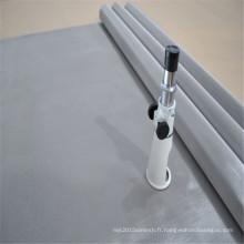 Maille d'impression d'écran d'acier inoxydable d'armure de toile simple 316L