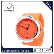 Montre-bracelet de Slap de montre de silicone de 2015 (DC-925)