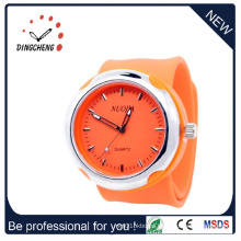 2015 Fashion Silicone Watch Slap Wrist Watch (DC-925)