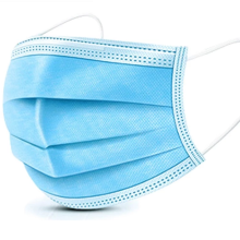 Protective medical surgical disposable face mask