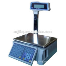 Kingtype barcode label printing scale