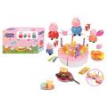 Горячая Продажа Детский Игровой Домик Пластиковый Игровой Набор Торт (10258947)