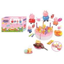 Juego de juego de pastel de plástico de venta caliente para niños (10258947)