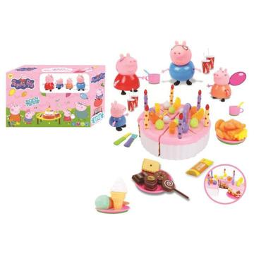 Venda quente crianças brincam casa plastic cake play set (10258947)