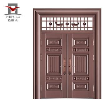 Puerta de acero de calidad superior de buen precio bajo