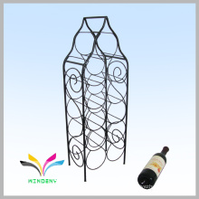 Smartable black counter wire display wine rack supermarket