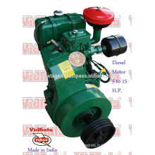 Diesel Engine lister india 10 ch d'air refroidi