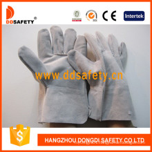 Short Cow Split Leather Welder Work Gloves Dlw602