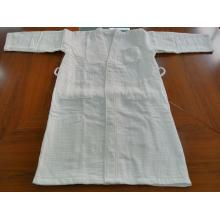 100%Fresh Cotton Waffle Velour Double Bathrobe