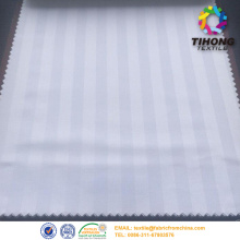 4/1 satin stripe bed sheet tyg hotell