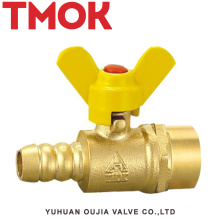 Butterfly handle inner wire gas valve