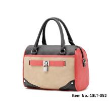 2015 Nizza / Mode Leder Handtaschen / Reisetasche für Frauen mit Reißverschluss