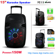 Trolley Portable Bluetooth sans fil Bluetooth DJ Karaoke