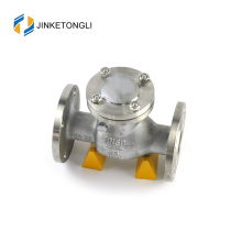 JKTLPC093 back pressure carbon steel non return ball check valve design