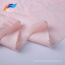 100% Polyester Fashion Jacquard Embroidery Dresses Fabric