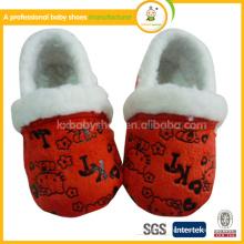 Sapatos de bebê chinelo para crianças