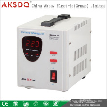 New Type Single Phase Automatic 220V Servo Motor AC Home Voltage Stabilizer For Car Battery