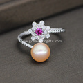 Freshwater Pearl Ring Design for Girl and Women