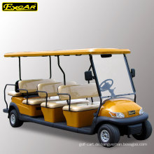 EXCAR 11 Passagiere elektrische Golfwagen zum Verkauf Sightseeing-Tour Bus