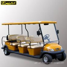 EXCAR 11 пассажиров электрических гольф тележки для продажи обзорная экскурсия шины автомобиля