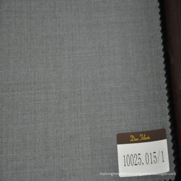best selling grey twill design suiting fabric for man