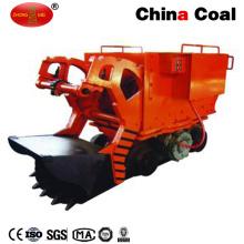 Machine de débardage de tunnel d'extraction de chargeur de roche électrique