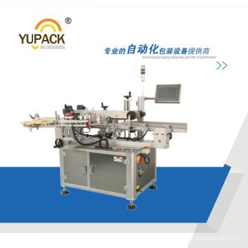 PLC Control Karton Doppelseitige Abdichtung und Etikettiermaschine