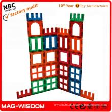 Magnetische Gebäude Fliesen Spielzeug Pädagogische Spielzeug 2015 24pcs