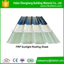 Láminas para techos de alta resistencia FRP