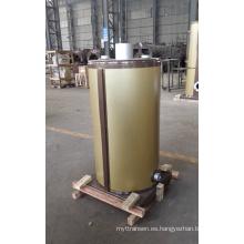 Caldera de vapor de aceite vertical (gas) Lhs 0.5