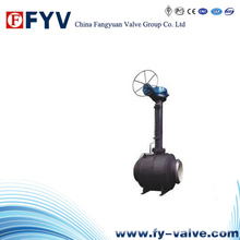 API6d Earth Buried Fixed Ball Valve
