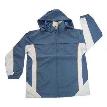 Yj-1040 Waterproof Running Cycling Rain Jackets Raincoat Mens with Hood