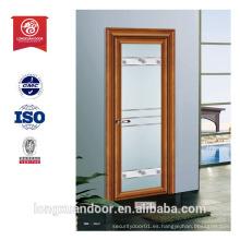 Puerta moderna puerta corredera pvc cuarto de baño puerta diseño lowes puerta interior