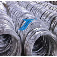 Катанка 9,5 мм сталь q235 высокого качества низкоуглеродистая Гальванизированная стальная