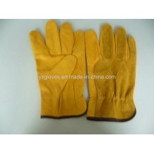 Driver Glove-Cow Hide Driver Glove-Leather Glove-Work Glove