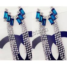 Gets.com zinc alloy long chain tassel necklace
