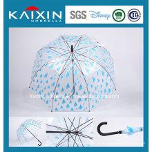 Moderner entworfener gerade im Freienregenschirm