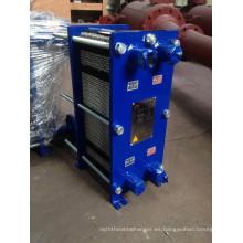 Intercambiador de calor de placa de acero inoxidable (BR0.2-8-1.0-E)