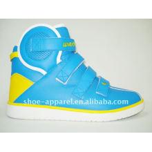 2013 marca barata atacado highcut skate sapatos casuais nikel sapato