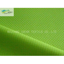 Dobby Polyester Taffeta Fabric With Coated PU coat