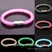BCR034 Wholesale 2015 New Crystal Bracelet With Magnetic Clasp Bangles For Women Stardust Bracelets