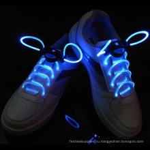 Светодиодный свет вверх мигающий шнурки обувь Тринг