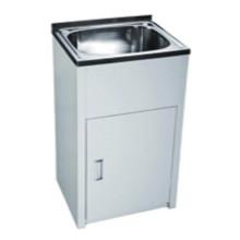 Bathroom White Single Sink Laundry Tub (555)