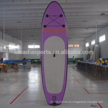 Tablero inflable plegable Paddl gigante SUP Paddle Long Boards para la venta