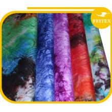 Los proveedores al por mayor de China almacenan muchos colores Damasco hecho a mano tela africana guinea brocado bazin desgaste de las mujeres para el banquete de boda