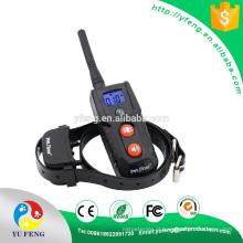 Controle o colar do treinamento da casca do cão da bateria de lítio de 300M com estática / sinal sonoro